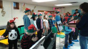 La Chorale J-O du primaire